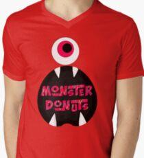 MoNsTeR DoNuTs CoLoR Men's V-Neck T-Shirt
