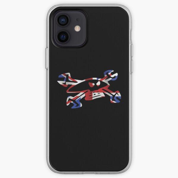 Guy Martin Skull Logo - Union Jack iPhone Soft Case