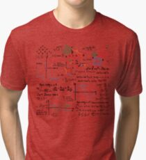 Mathematics Formulas Numbers  Tri-blend T-Shirt