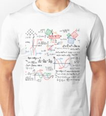 Mathematics Formulas Numbers  Unisex T-Shirt