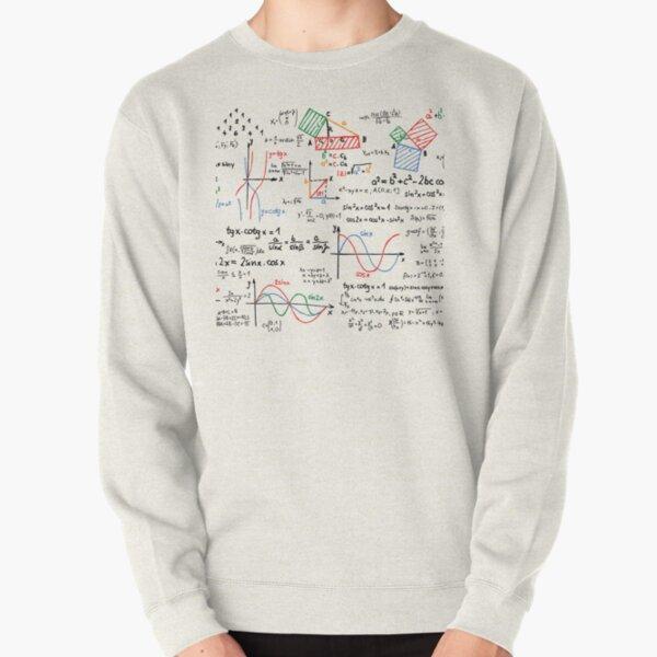 Números de fórmulas matemáticas Sudadera sin capucha