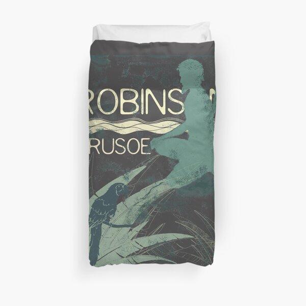 Books Collection: Robinson Crusoe Duvet Cover