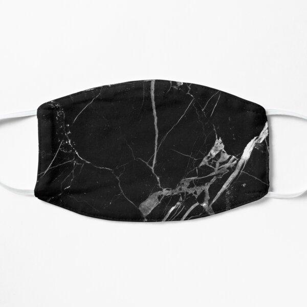 BLACK MARBLE Flat Mask