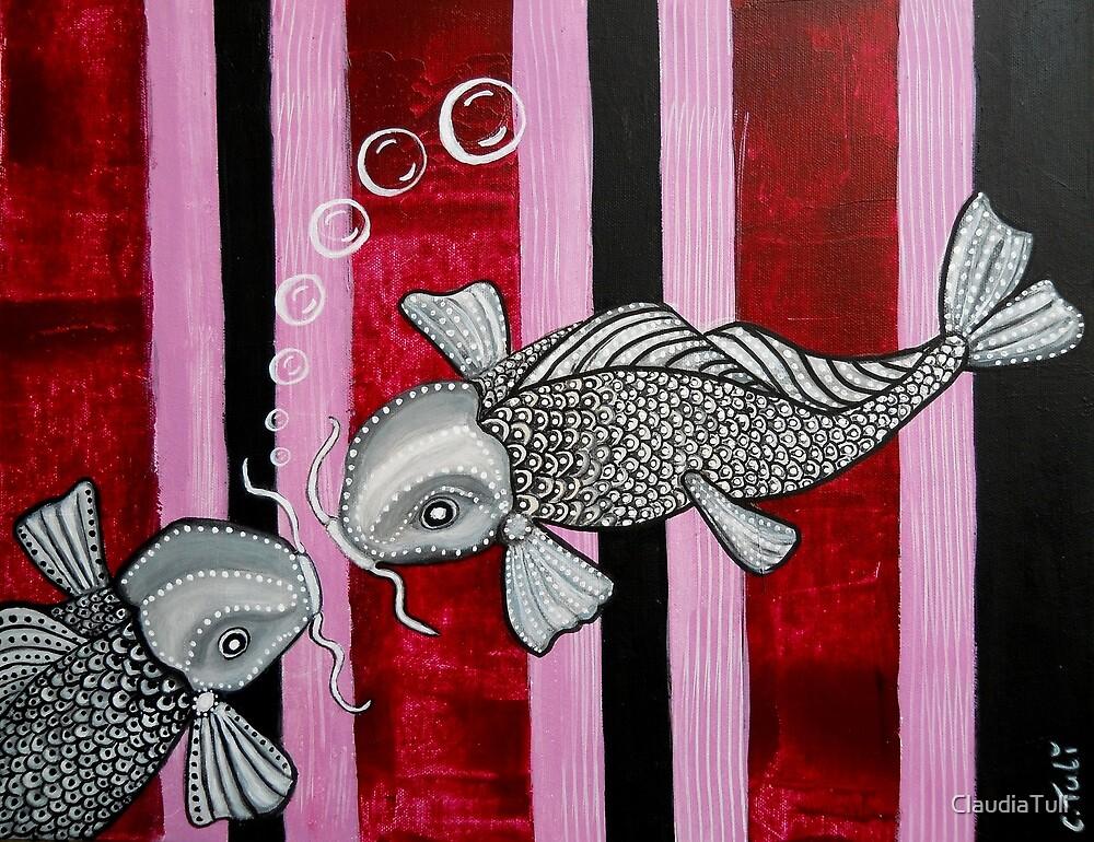 2 Koi Fish In Love by ClaudiaTuli