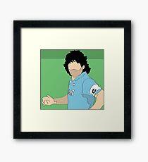 Maradona Napoli Framed Print