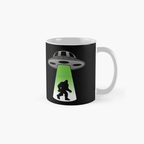 Bigfoot Abduction Classic Mug