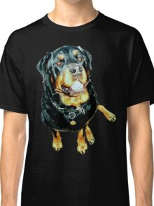 Rottweiler Photo Portrait Classic T-Shirt