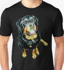 Male Rottweiler Photo Portrait Unisex T-Shirt