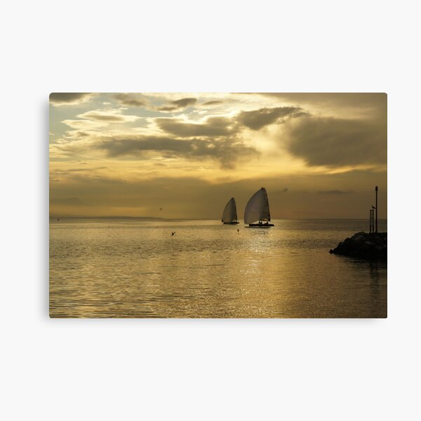 Ouchy - Sunset Canvas Print