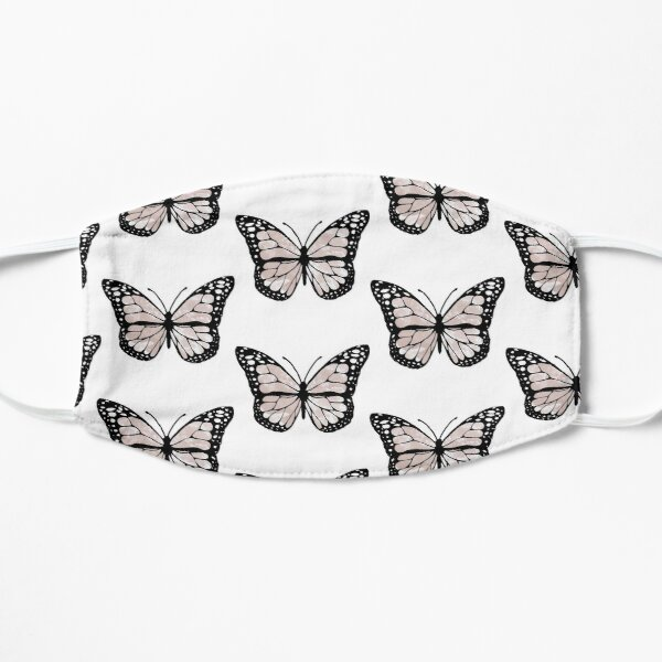cloudy butterfly Small Mask