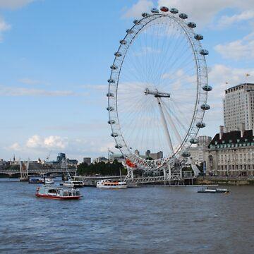 London - London Eye by santoshputhran