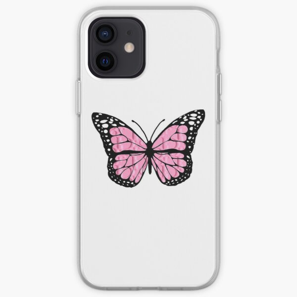 "designer butterfly ""D"" iPhone Soft Case"
