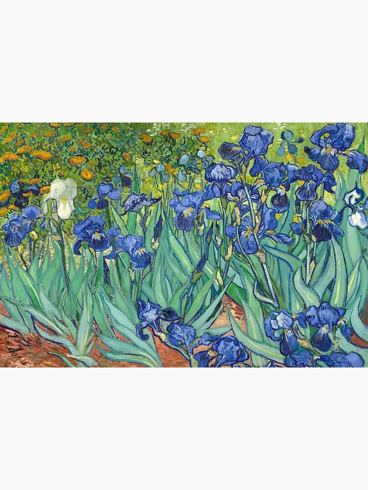 Vincent Van Gogh's Iris by fourretout