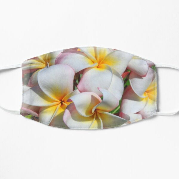 Soft Plumeria Natural Bouquet Mask