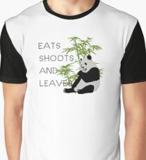 Eats, Shoots and Leaves Graphic T-Shirt