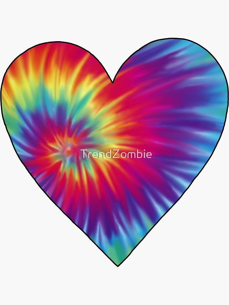 Tie-Dye Heart by TrendZombie