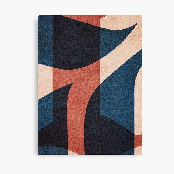 ABSTRACT ALPHABET / Gothic B Canvas Print