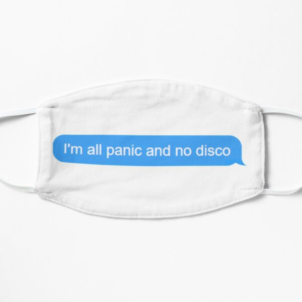 all panic / no disco Mask