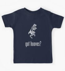 got hooves? White Kids Tee