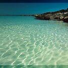 Sunlight dancing on the sea by Winksy