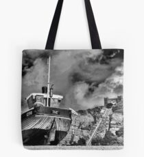 High and Dry - BW Tote Bag