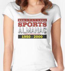 Almanac 1950 - 2000 Women's Fitted Scoop T-Shirt