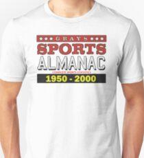 Almanac 1950 - 2000 Unisex T-Shirt