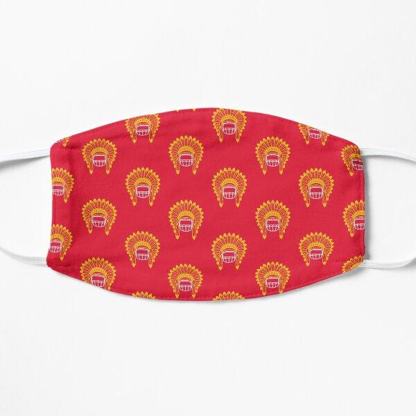Chiefs Headdress - Red 2 Mask