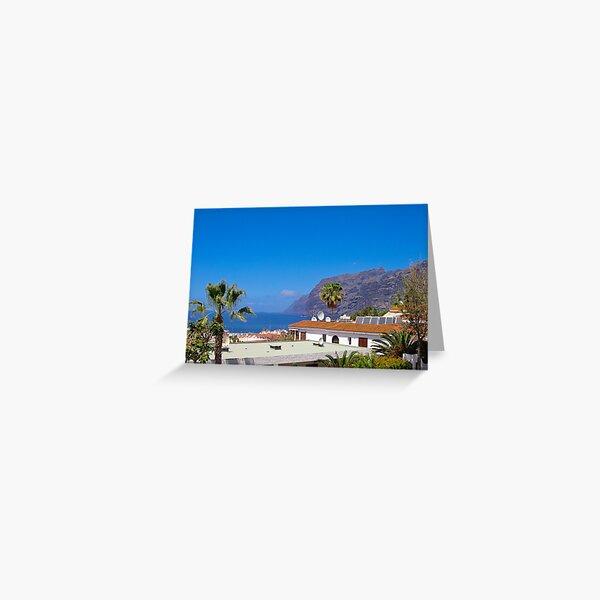 Los Gigantes, Tenerife Greeting Card