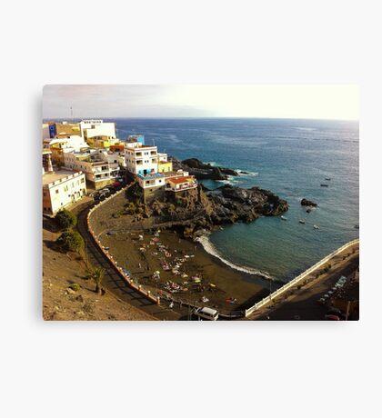 Puerto Santigao, Tenerife Canvas Print