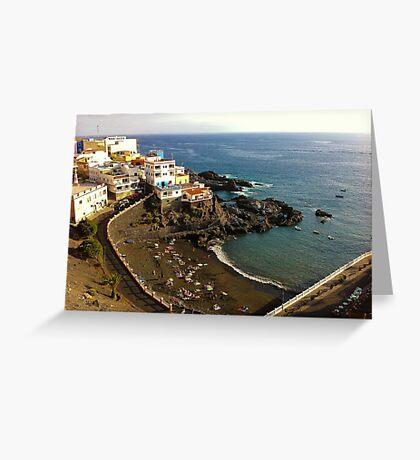 Puerto Santigao, Tenerife Greeting Card
