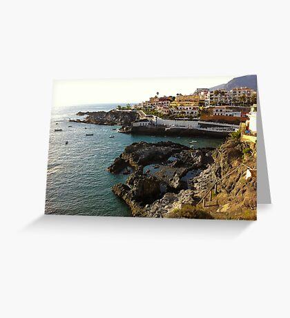 Puerto Santiago, Tenerife Greeting Card