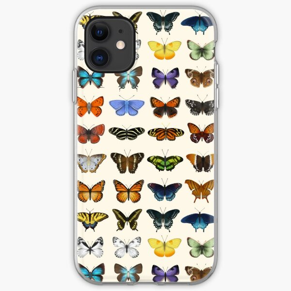 Butterflies of North America iPhone Soft Case
