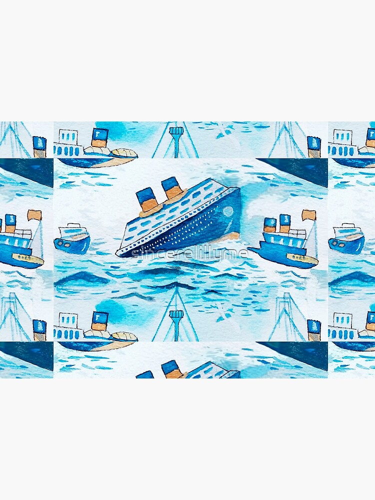 Ferry boats scrub cap by sincerelillyme