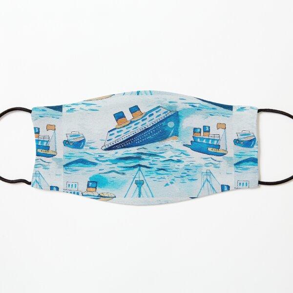 Ferry boats scrub cap Kids Mask