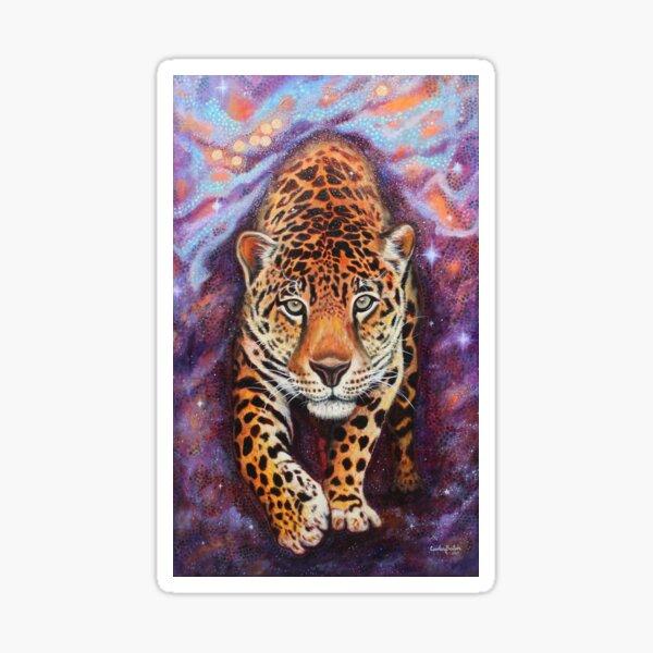 Milky-Way Jaguar Pegatina