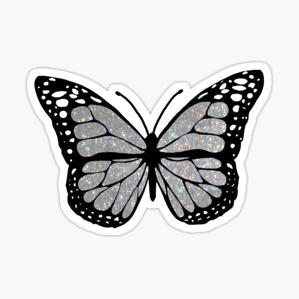 sparkly butterfly  Sticker