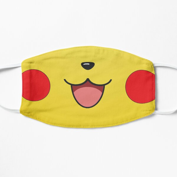 Cute Animal Face Mouse Flat Mask