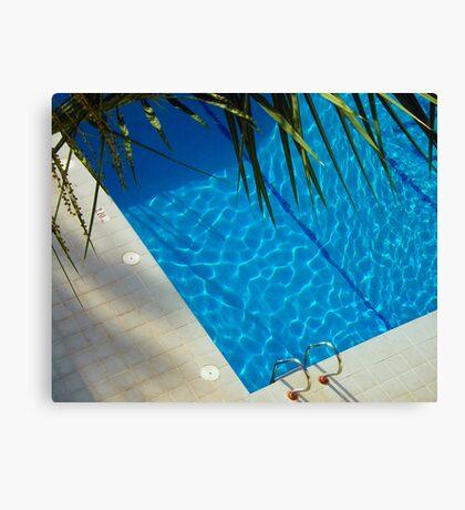 An inviting pool Canvas Print