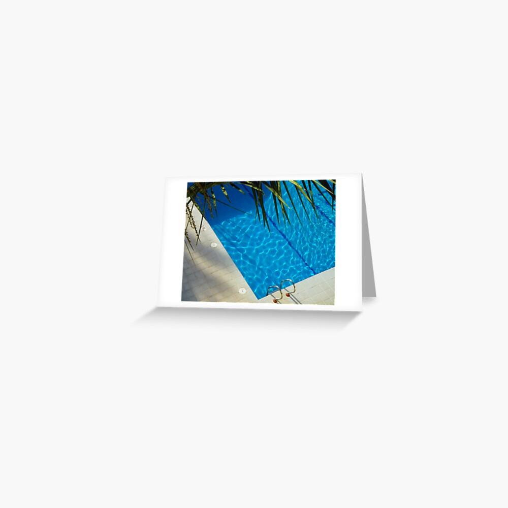 An inviting pool Greeting Card