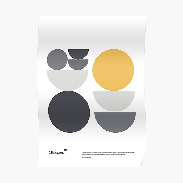 Shapes 04 Poster