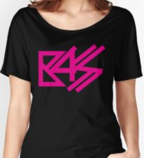 BASS (pink)  Women's Relaxed Fit T-Shirt