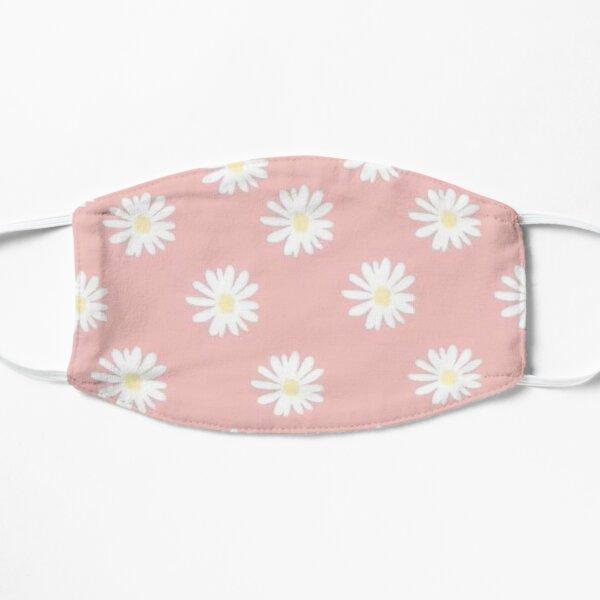 Pink daisies  Flat Mask