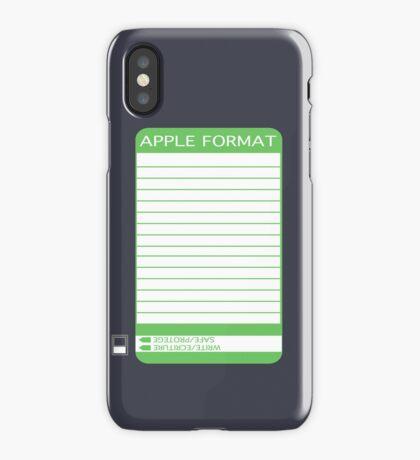 IPhone Floppy Label - green iPhone Case