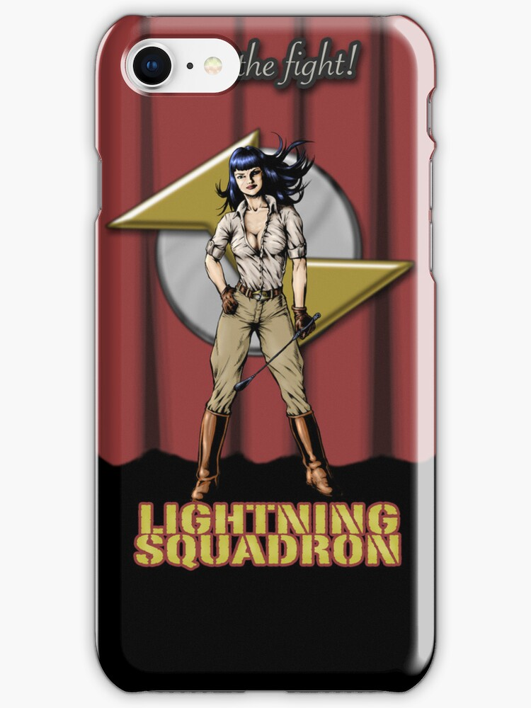 Lightning Squadron (Katie Galaxy) by Maggie McFee