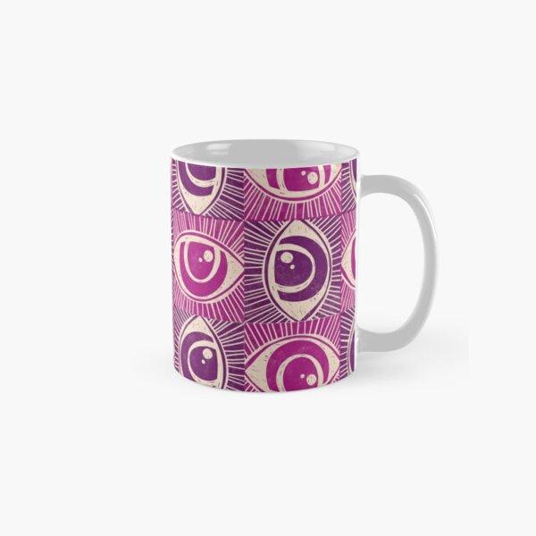 Woodblock Eye Classic Mug