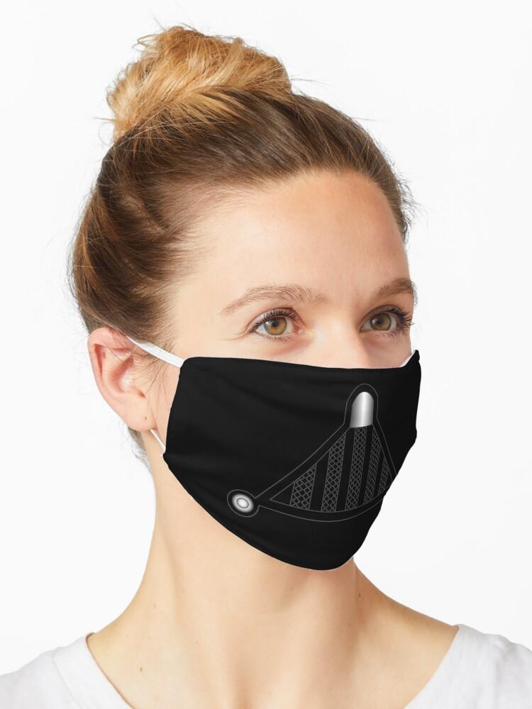 Darth Vader Helmet Respirator Mask By Darthcobay Redbubble