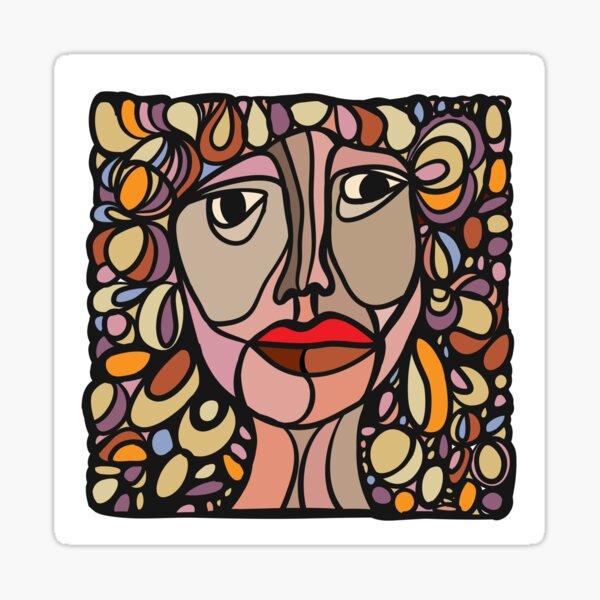 Facial Features #2 Sticker