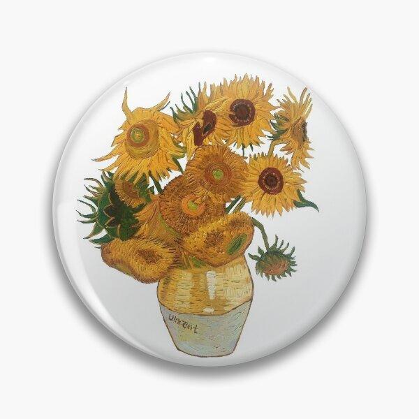 Girasoles Van Gogh Chapa