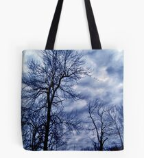 Overcast Silhouette Tote Bag